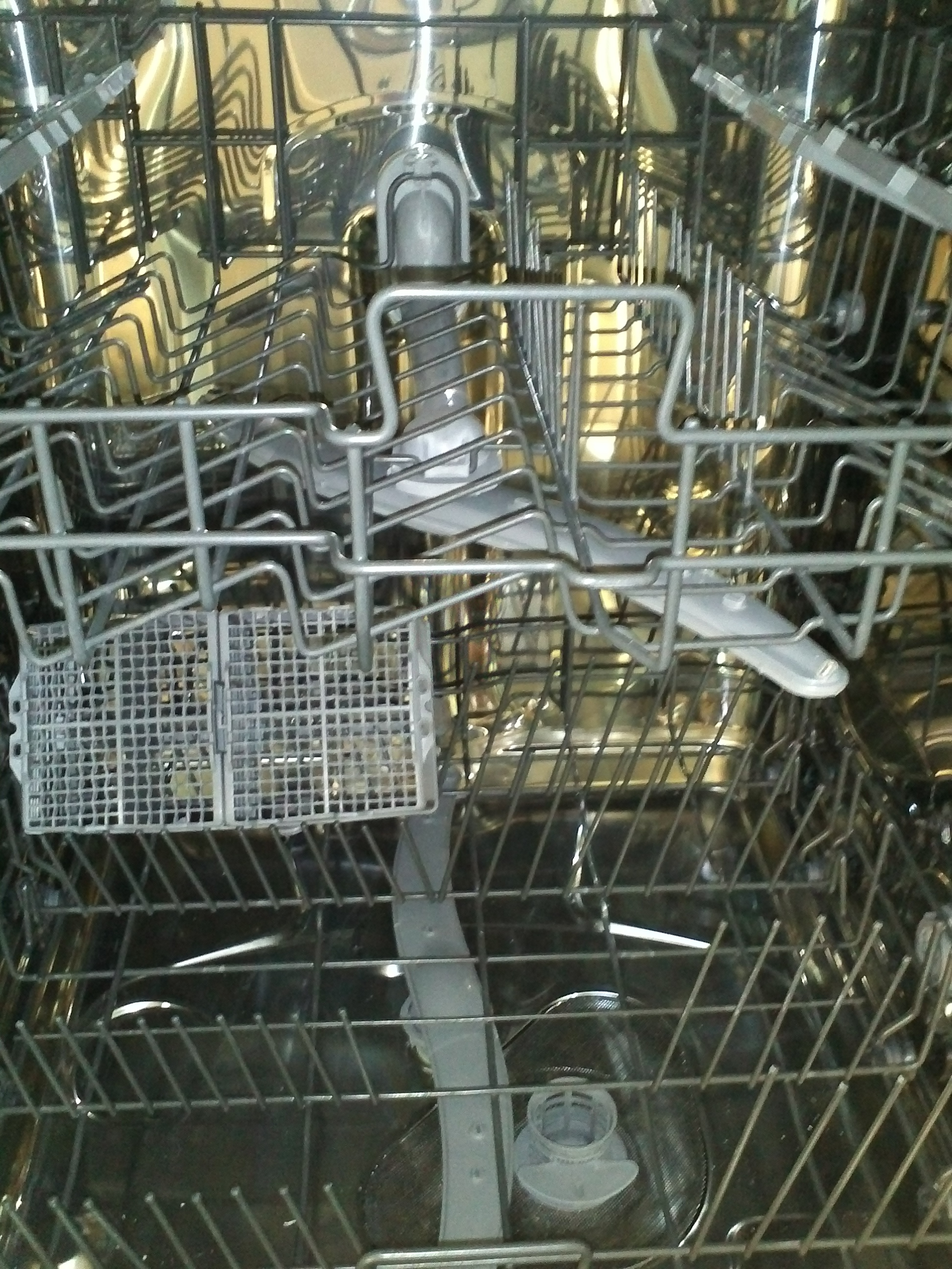Dishwasher Fisher&Paykel DW60SCW1 Open