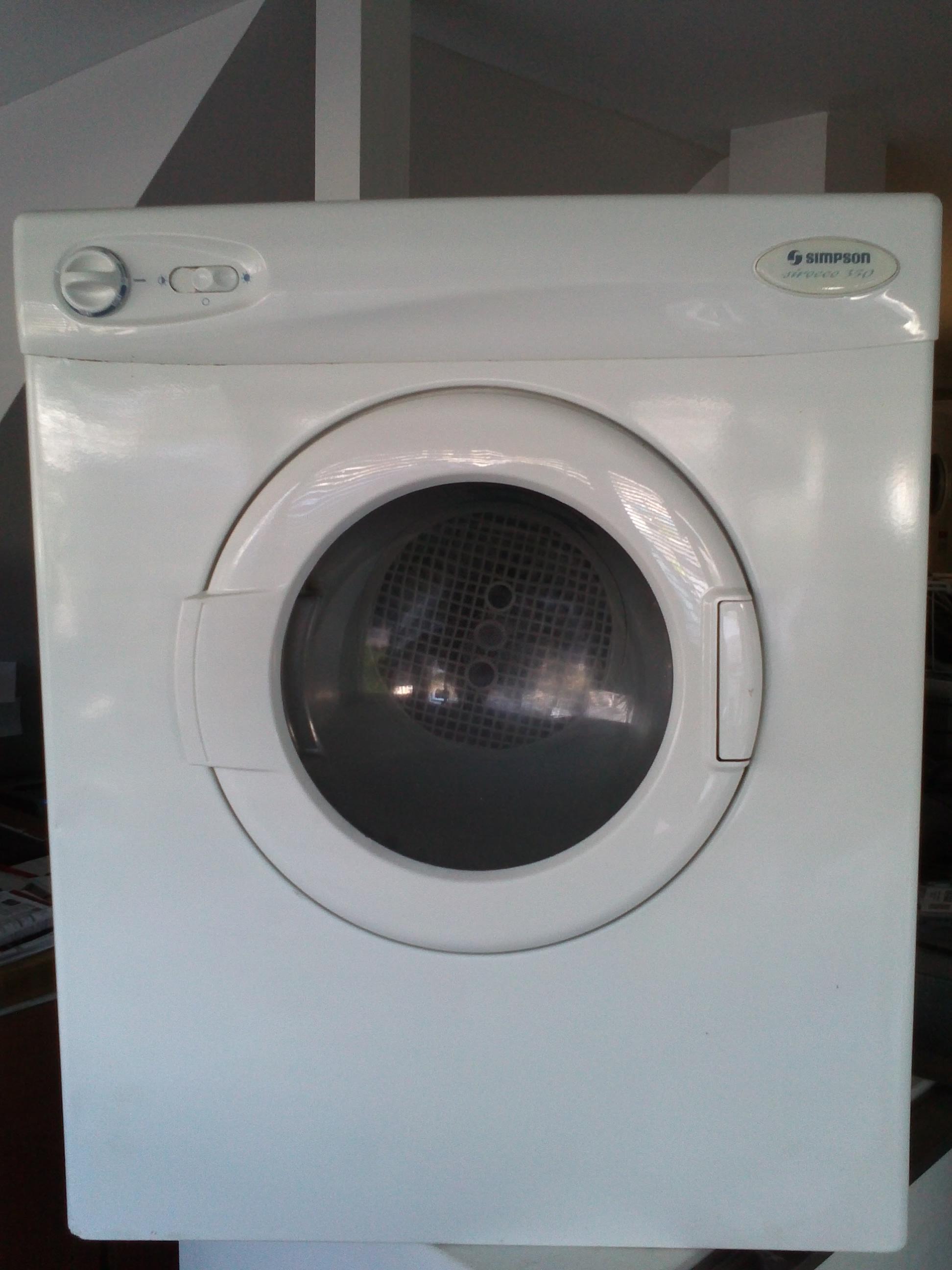 simpson sirocco 555 dryer manual
