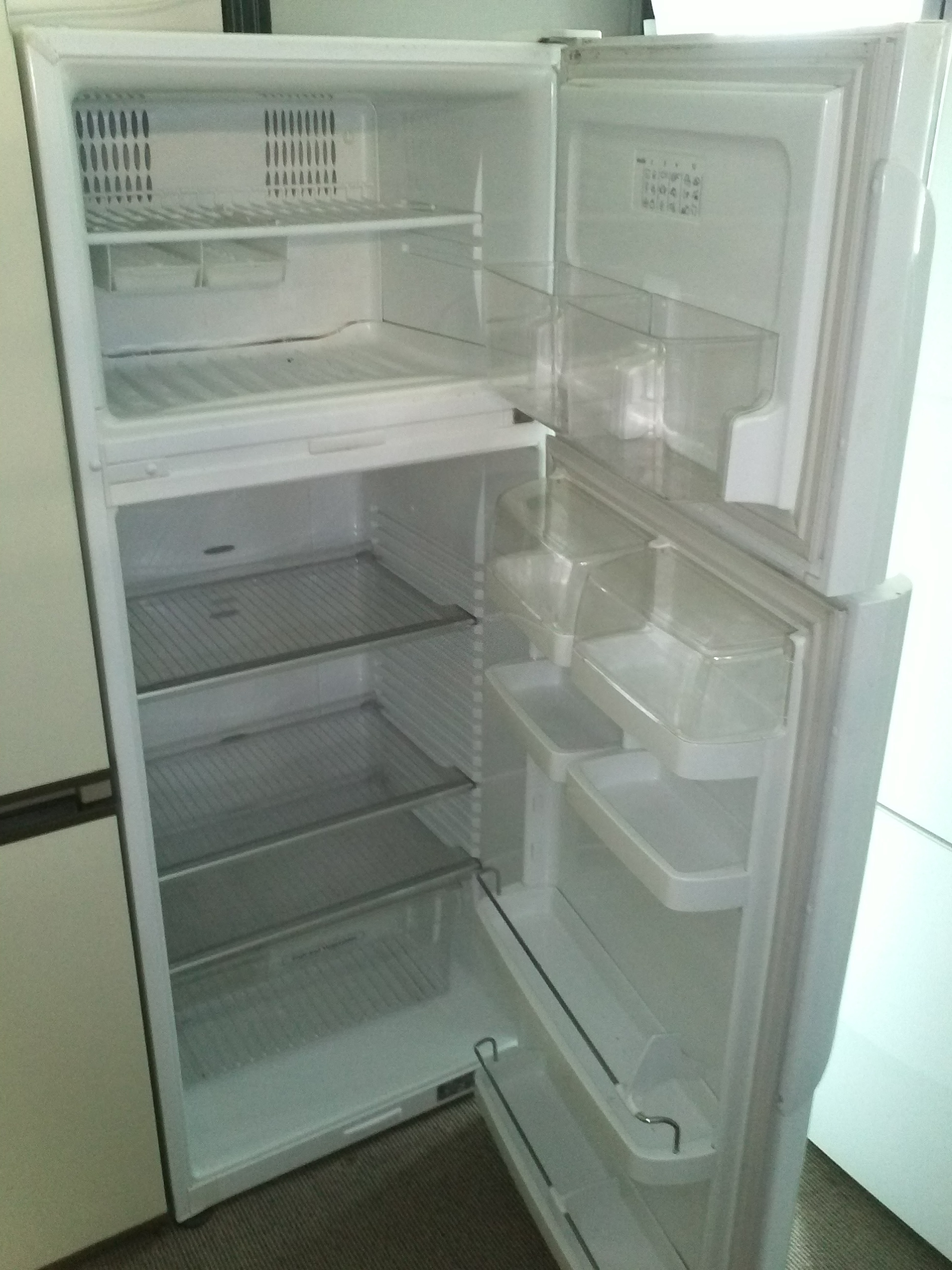 fridge-freezer-fisher-and-paykel-active-smart-e381t-open