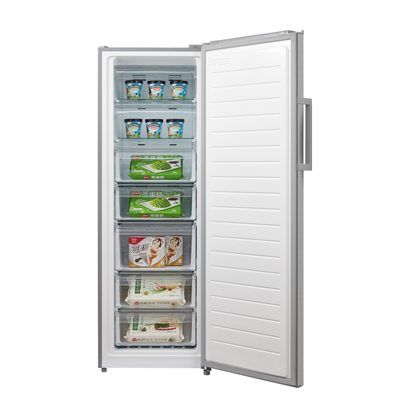 Fridge or Freezer MIDEA JHSD268SS Open